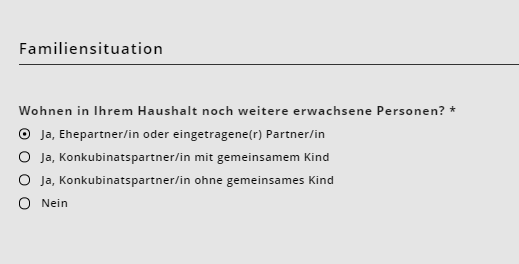 Familiensituation